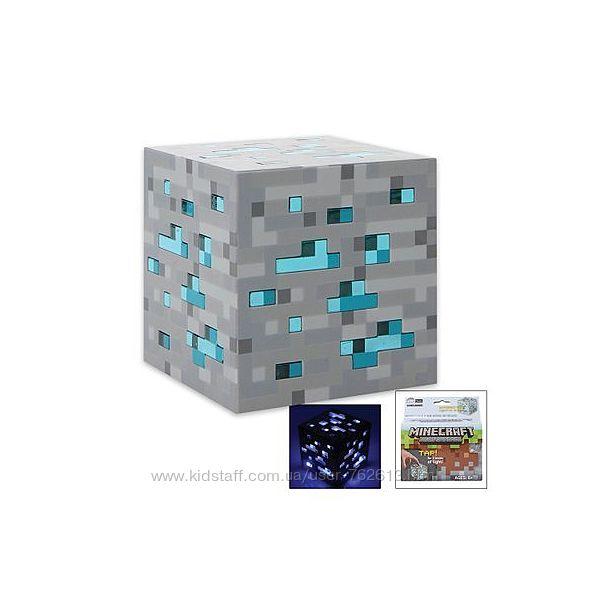 Светильник Куб Minecraft Майнкрафт Алмазная руда