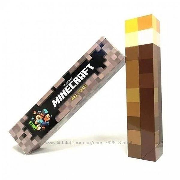 Светильник Факел Minecraft Майнкрафт