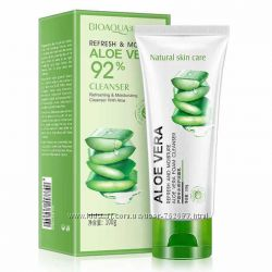 Пенка для умывания с алое Bioaqua Aloe Vera 92 100g