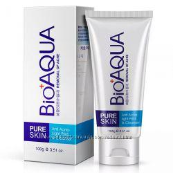 Пенка для умывания от акне и воспалений Bioaqua Pure Skin Anti-Acne 100мл