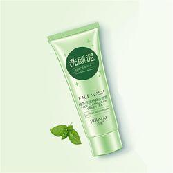 Крем-Пенка для умывания с зелёным чаем Houmai Face Wash Green Tea