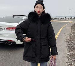 Куртка женская зимняя оверсайз