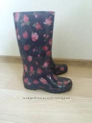Сапоги резиновые со съемным носочком