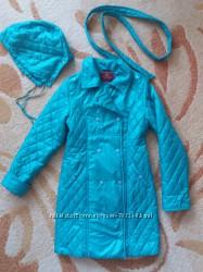 Деми пальто для девочки Nui Very