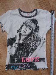 Удобная футболка для юной модницы