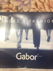 GABOR коричневі шкіряні демисезонні чоботи 39розмір