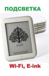 Акция Электронная книга с подсветкой экрана Barnes&Noble Nook Glowlight B