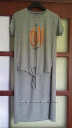 Оригинальная блузка-туника на рост 164 см