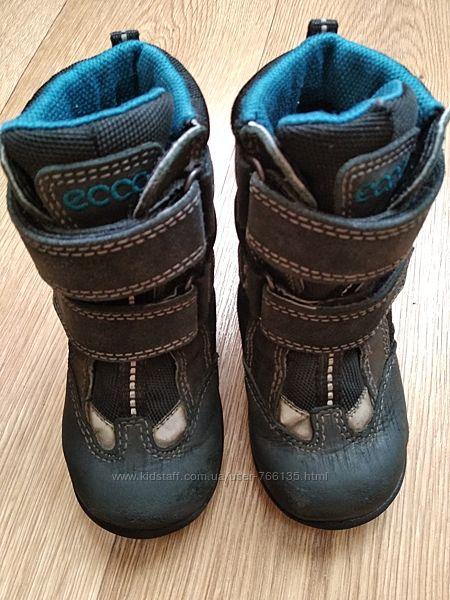 Ботинки сапожки детские Ecco