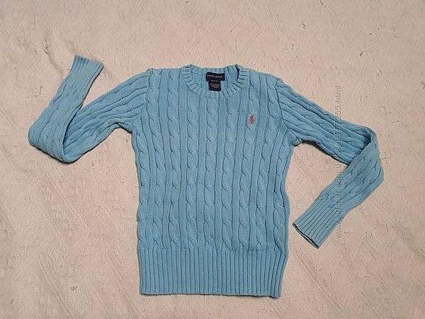 Свитер пуловер  реглан  7-10 лет