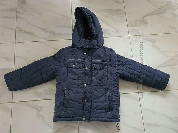 Куртка зимняя 7 лет рост 122 см