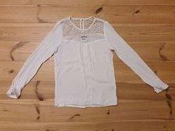 Блуза белая 10-12 лет, рост 146-152 см