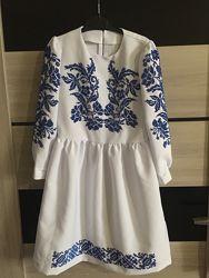 Платье вышиванка нарядное