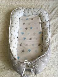 Кокон гнездышко позиционер для малыша