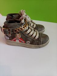 Кросівки- снікерси хайтопи для дівчинки Disney 29 розмір