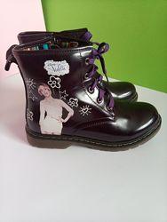 Осінні черевички для дівчинки Disney 35 розмір
