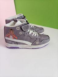 Кросівки- хайтопи снікерси для дівчинки Disney 34 розмір