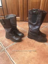 Продам кожаные сапоги Zara, 26 и 29рр
