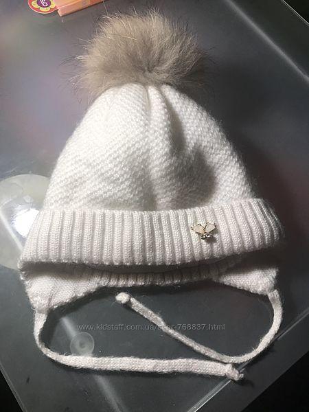 Продам зимнюю шапочку для девочки в новом состоянии