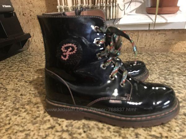Продам демисезонные ботинки Pablosky Испания, размер -36, по стельке -23,