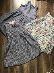 Продам наши  фирменные  платья 4-6 лет НМ, Mayoral
