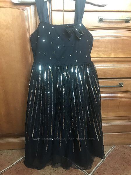 Продам нарядное платье,  рост 134