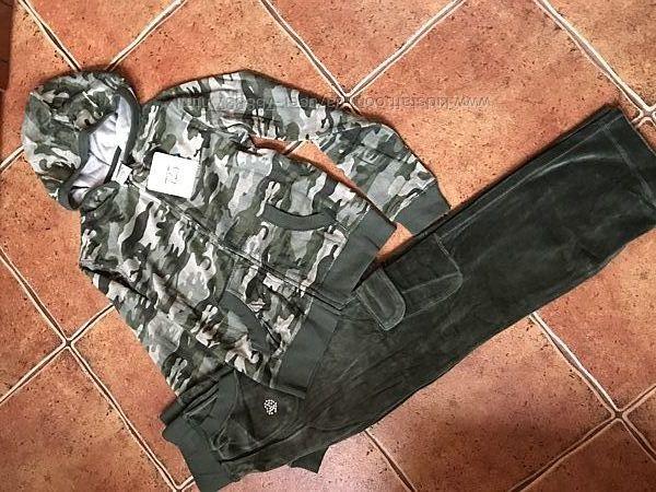 Продам новый велюровый спортивный костюм для девочки 10/12 лет