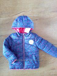 Курточка двохстороння,  C&A, на ріст 98 см.