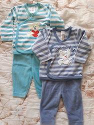 Флисовый комплект штаны и кофта