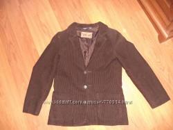 Вельветовый пиджак на мальчика H&M на 9-10 лет