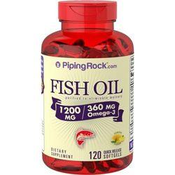 Рыбий жир Omega-3 Омега-3 от Piping Rock