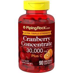 Клюква и витамин С в три раза более эффективная формула от PipingRock