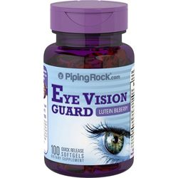 Eye Vision Guard  PipingRock США для зрения лютеин черника