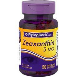 Зеаксантин 5 мг от Piping Rock