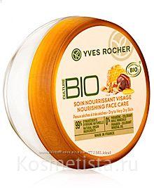 Питательный крем для лица Мед и мюсли Ив Роше Yves Rocher