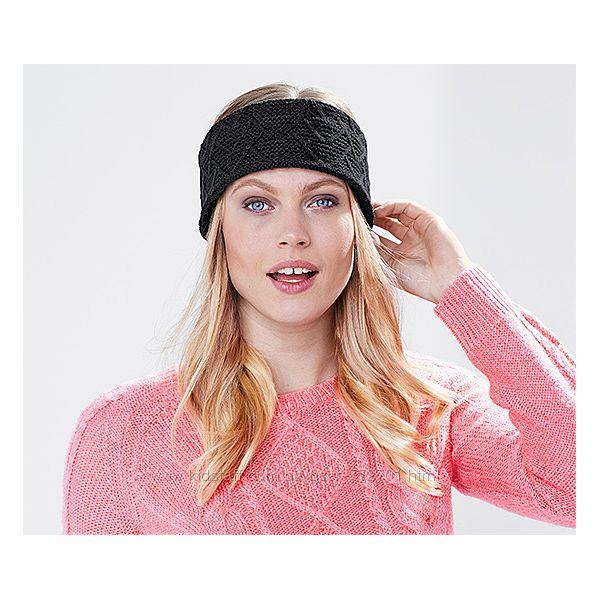 Теплая повязка, ободок на голову, на флисе ТСМ Чибо.