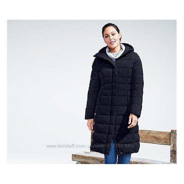 Теплое зимнее стеганое пальто snow tech ТСМ Tchibo. S