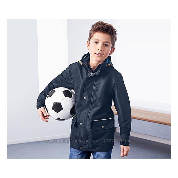 Отличная всепогодняя куртка с капюшоном ТСМ Чибо. 134-140