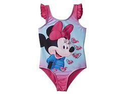 Красивый сдельный купальник Minnie Mouse Disney. 134-140