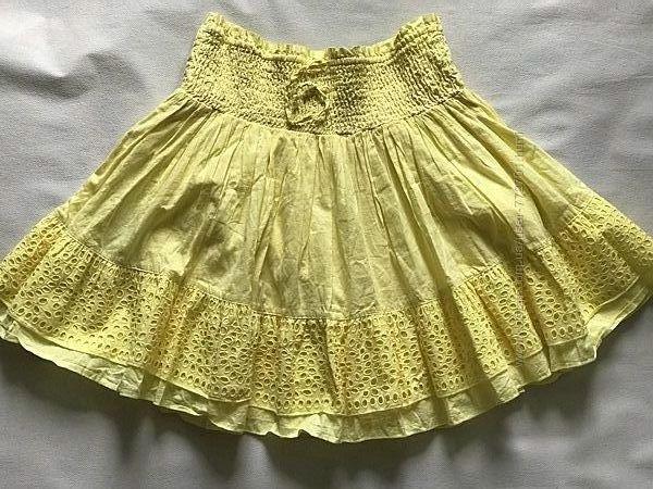 Красивая хлопковая юбка с вышивкой Next . Индия. 146-152