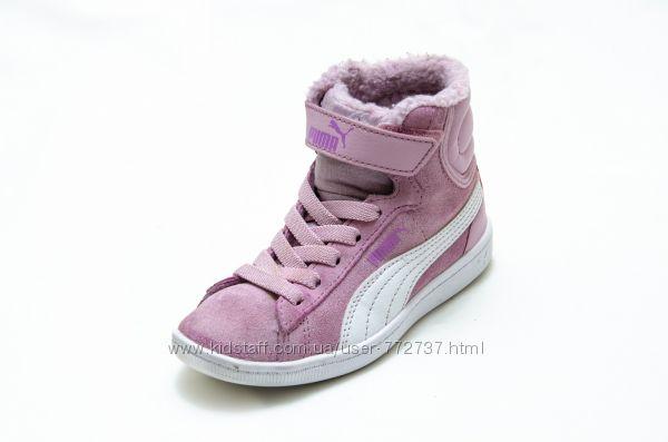 Ботинки Puma Vikky Mid. Стелька 17, 5 см