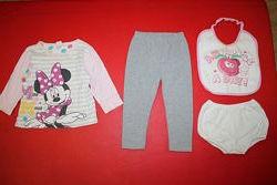 Пижама Disney хб на 1-2года рост 75-85см и подарок