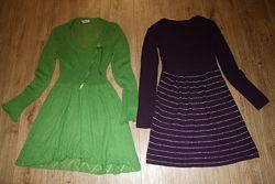 Платье туника трикотаж стильное 42-46р отличное состояние