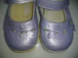 Перламутровые туфельки STUPS р-р 22-23 ст-ка 13. 5 см