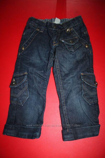 Бриджи капри шорты джинс коттон 4-6лет в идеале школа и садик