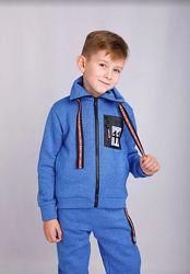 Тёплый Подростковый спортивный костюм 122-128-134-140