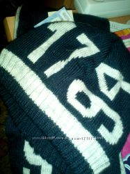 Теплый набор шапка и шарф