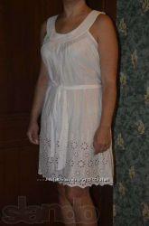Платье-сарафан-туника, 42-44 размер, низ прошва