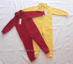 Флисовый комбинезон, поддева, пижама. р92-122