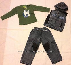 Отличные джинсовые костюмы тройка , в наличии